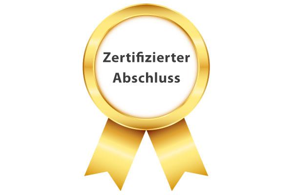 Zertifizierter Abschluss